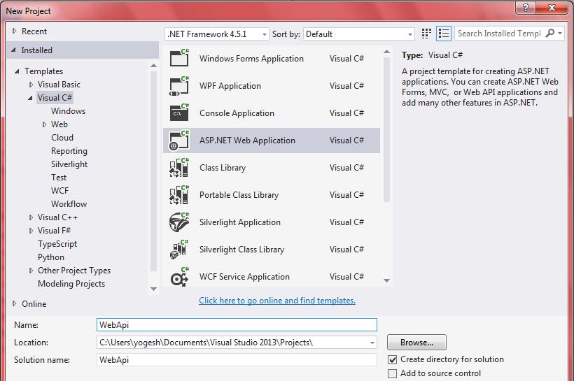 WebApi Example With Cross Origin Support - Angular | ASP NET Tutorials