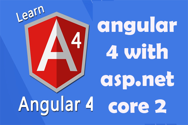 angular 4 with asp.net core 2 and WEB API | REST services