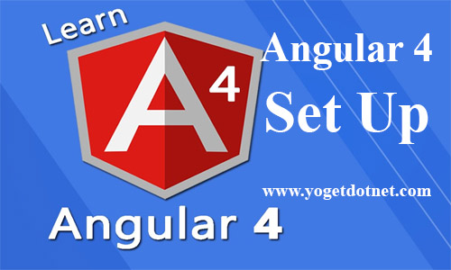 How to set up angular 4
