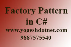 factory pattern c# real world example