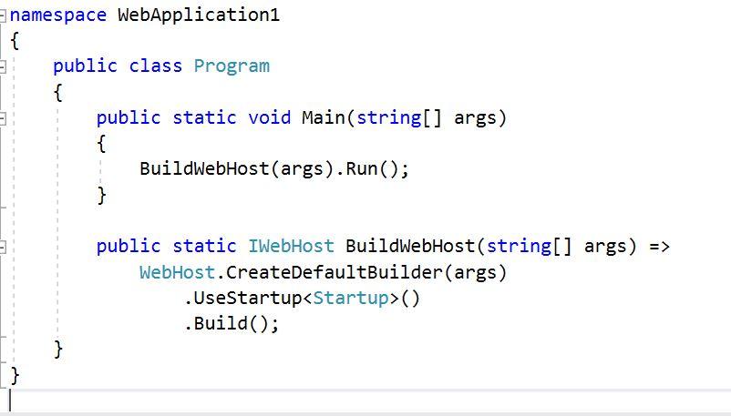 Kestrel Web Server Program - Tutorial