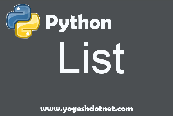 List in Python with example