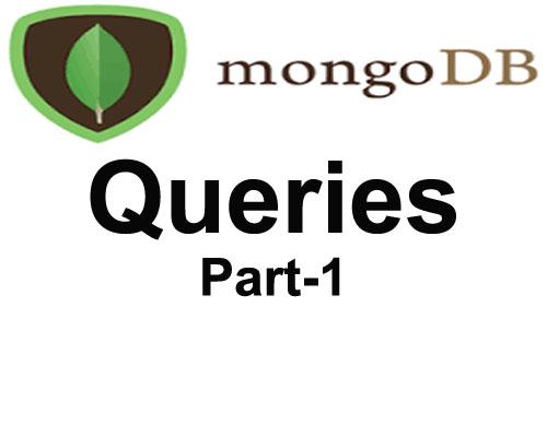 mongoDB basic queries Part-1
