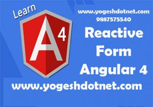 angular 4 reactive form