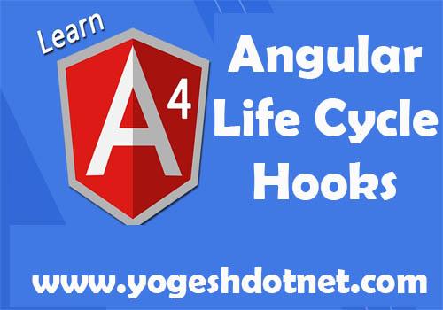 angular life cycle hooks