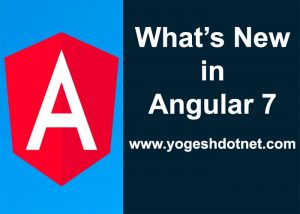angular7 release notes