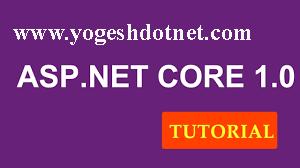 Project.json in asp.net core 1.0