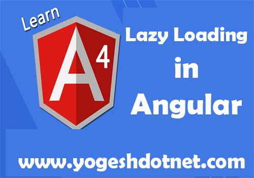 lazy loading in angular