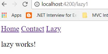 lazy loading in angular