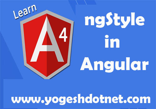 ngStyle in angular  with example