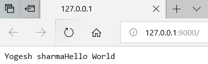 node module exports