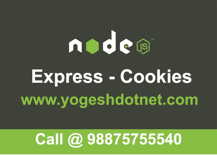 express cookie parser | Create cookies using express