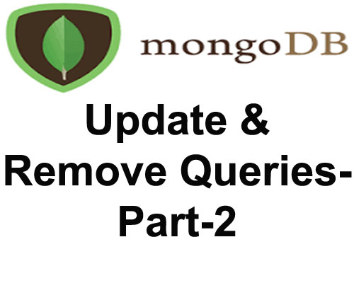 update , remove and drop queries in mongodb